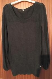 Ladies Brown Jumper ~ Size 12