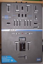 Stanton SA5 Allies Allstar mixer ideal for scracthing. No knobs, just faders