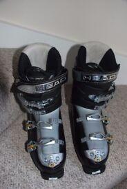 Ladies Head Edge Ski Boots 7.7