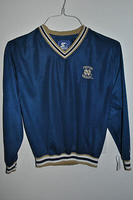 Youth Boys Medium Notre Dame Starter Pullover Long Sleeve Jersey Material Shirt