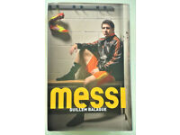 'Messi' biography by Guillem Balague (hardback)