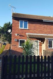 Lovely Semi-Detached 2 Bedroom House with Big Garden, Conservatory and Massive parking space
