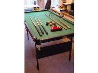 Snooker/billiard table 6ft