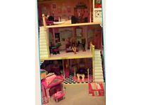 Barbie doll Bundle, House,jigsaw,mega blocks EXCELLENT CONDITION
