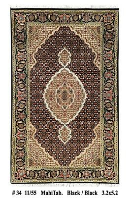 Red Carpets For Sale ((157 x 97 cm) for Sale Handmade Carpet 3 x 5 Silk Highlights Red Mahi)