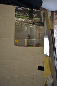 Wickes 760mm Pivot shower door.