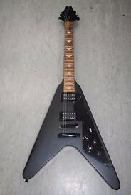 Stagg F300 Flying V Electric Guitar with Soft Case £120