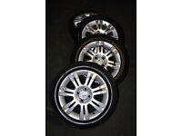 "Vauxhall Corsa C 15"" Alloys With Tyres 185/55/15 7mm 6mm 5mm 3mm Tread"