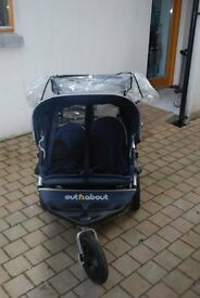 Double Little Nipper Pram- great condition