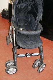 Silver Cross Black Pushchair