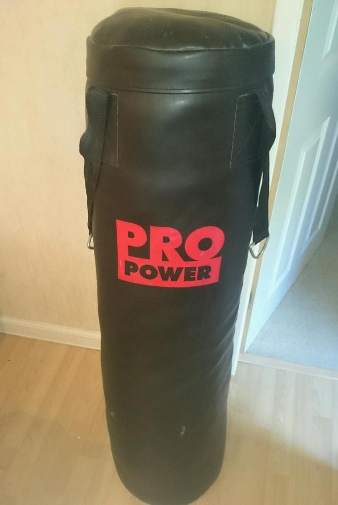 Pro Power Punch Bag With Bag Mitts In Hamilton South
