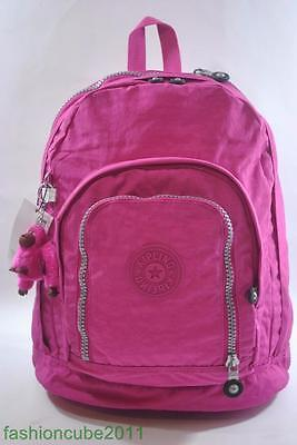 New With Tag Kipling Hiker Expandable Backpack BP2128 485-Very Berry