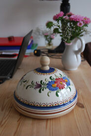 Hand Painted Portugese Domed Cheese Board