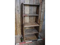 BOOKCASE shelves dresser FREE DELIVERY industrial kitchen shop home workshop vintage wood sgplanera