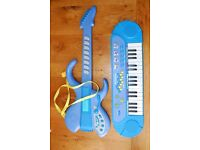 Key Board and Guitar (ELC) - Age 5 and under