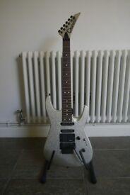Charvel 1989 Fusion Custom Electric Guitar - Silver