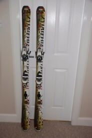 Womens Dynastar Skis and Bindings in excellent condition.
