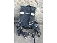 Apeks WTX harness size XL & D60R twin bag Wing