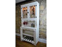 Bespoke Display Cabinet and Wine Rack