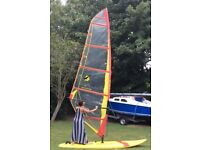 Windsurf board F2 Phoenix & Sail Arrows Manitou