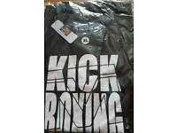 Kickboxing t shirts various styles range of sizes fight tops