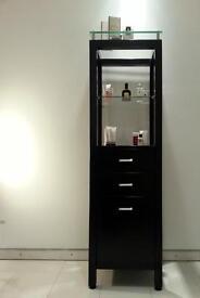 Stylish bathroom display cabinet