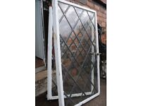 Two Steel Framed Crittall Windows
