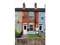 1 bedroom house for rent in Newark (front and rear gardens) £475
