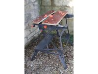 Workmate 800. Collapsible work bench. Used. See photographs. Buyer collect.