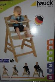 Hauck. High chair
