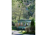 Tranquil and quiet holiday park in the lake district beautiful fully equiped 2 bed caravan for hire