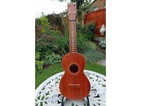 Luthier Kenny Hill Koa Concert Ukulele & Case