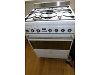 Smeg dual fuel cooker electric oven gas hob