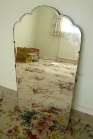 Curly-topped Bedroom, Bathroom or Hall Mirror
