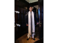Sherwani For Mens Navy & Gold Size 36 to 50