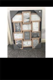 1, 2 or 3 brand new photo collage frames