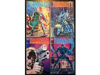 Dark Horse 'Terminator' Comic Set Of Four (1990)