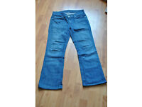 7 for all mankind - designer bootcut jeans - size 27