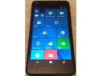 Microsoft Lumia 640 lte dual sim phone, unlocked windows 10, good condition