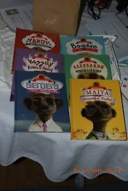 Set of Meerkat books