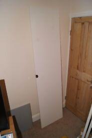 Ikea Tanem PAX Door - Plain white 50x195cm