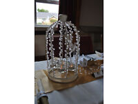 Birdcage table decorations for weddings engagement parties