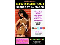 SATURDAY 4th MARCH - 60s 70s SOUL / REGGAE / MOTOWN / SKA with DOUBLE BARREL - City Centre.