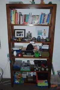 Solid Teak Wood book shelves Mosman Mosman Area Preview