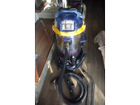 Sealey Advanced industrial PC90P Wet & Dry vacuum HEPA Twin motor - Power take off, £1300 new