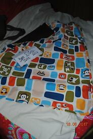 Paul Frank pram blanket