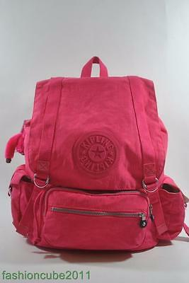New With Tag Kipling Joetsu Large Backpack - Vibrant Pink