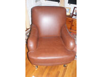 Leather armchair from M &S