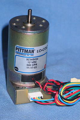 Pittman 9234e454 12vdc 500 Cpr Precision Motor - New