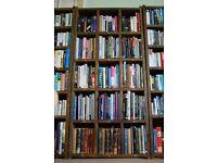 Big books bookcase pigeon holes display wine rack storage reclaimed wood upcycle industrial gplanera